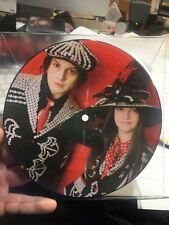 """WHITE STRIPES icky thump 7"""" picture disc Jack White"""