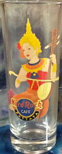 "Hard Rock Cafe PATTAYA 2004 City Tee T-Shirt 4"" SHOT GLASS Cordial HRC GLASSWARE"