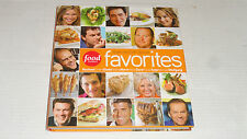 Food Network Favorites Recipes Our All-Star Chefs 2005 Hardcover NEW
