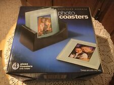 NEW In Box Cherished Accents Photo Coasters