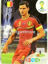 Adrenalyn XL - Jan Vertonghen - Belgien - Fifa World Cup Brazil 2014 WM