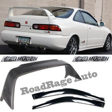 94-01 Acura Integra DC2 Mugen Gen 1 Trunk Spoiler Wing + JDM Window Shield Visor