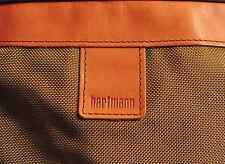 Vintage Hartman luggage Carry All  Leather Day Bag