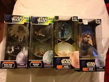 Star Wars Power of the Force Complete Galaxy Set of 4 Unopened 1998
