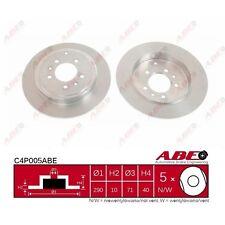 Bremsscheibe, 1 Stück ABE C4P005ABE