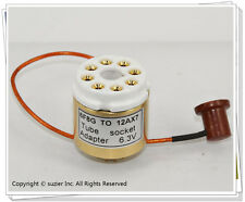 1 × 6F8G To 12AX7 ECC83 (6.3V) Vacuum Tube Amplifier Convert Socket Adapter