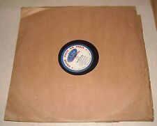 """16"""" VINYL RADIO TRANSCRIPTION RECORD US AIR FORCE RECRUITING COUNTRY MUSIC TIME"""
