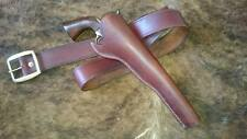 New Quality Handmade Genuine Leather Gun-Belt & Holster Western Cowboy