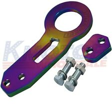 NEO CHROME JDMSPEED High Performance CNC Aluminum Racing Rear Tow Hook Kit