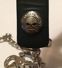 Harley Davidson Willie G Skull Wallet Chain