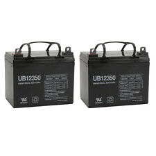 UPG 2 Pack - 12V 35Ah Pride Mobility BATLIQ1017 AGM U1 Replacement Battery