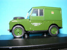 """Land Rover Series1 88""""Hardtop P.O. Engineering  an Oxford 1:43 rd. Scale Series"""