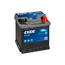 1x Exide Excell 44Ah 400CCA 12v Type 202 Car Battery 3 Year Warranty - EB440