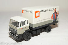LION CAR DAF 1900 TRUCK VAN GEND & LOOS GREY WHITE NEAR MINT CONDITION