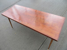 1960s MID CENTURY RUSTIC COFFEE TABLE EAMES ERA SOFA ACCENT VINTAGE TV STAND