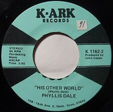 PHYLLIS DALE ~ THE LIGHTS GROWING DIM  ~ K-ARK 45 ROCKABILLY country HEAR