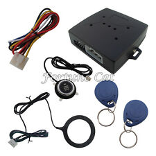 New Design RFID Car Alarm Engine Start Stop Push Button And Transponder Card