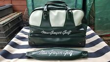 MacGregor Green & White Leather Golf Shoe/ Practice Ball Bag