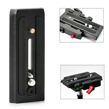 """Quick Release Plate 501PL for Manfrotto 501HDV 503HDV 701HDV 577 1/4"""" & 3/8"""""""