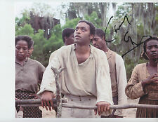 Chiwetel Ejiofor  -  12 YEARS A SLAVE - signed 8x10