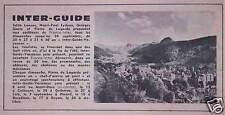 PUBLICITÉ RADIO FRANCE INTER AVEC E.LANSAC - H-P.EYDOUX - G.GOETZ - P.LAGARDE
