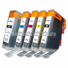 5 pk Canon PGI-225 CLI-226 Ink MG6110 MG6120 with Chip PGI-225 CLI-226