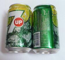 7UP Soda can HONG KONG 330ml  2012 Green HK Pepsi 7 Up