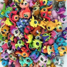 Random pick 30pcs Littlest Pet Shop Lot Girl RARE Loose Figures Child Toy Gift