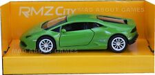 LAMBORGHINI HURACAN 12 cm Opening Doors Pull Back and Go Metal Diecast Model