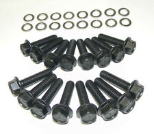 Ford Galaxie 429 - 460 Stock Exhaust Manifold Bolts Grade 8 Black Oxide  NEW