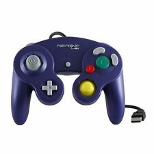 Retrolink Wired Nintendo GameCube Style USB Controller For PC And Mac Purple✔✔