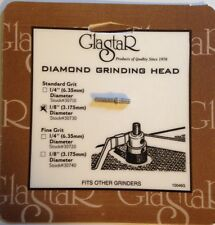 "Glastar 1/8"" Grinding Head, Bit, Stained Glass Grinder. Most Glastar or Inland"
