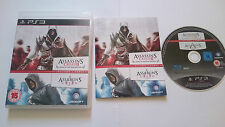 PACK ASSASSIN´S CREED I y II SONY PAL PLAYSTATION 3 PS3 EN CASTELLANO.