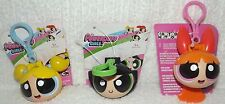 Powerpuff Girls Set of 3 Clip-Ons and 3 Mini Figure Packs