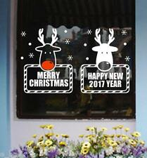 Merry Christmas Wall Art Removable Home Vinyl Window Wall Stickers Decal Decor N
