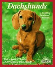 Dachshunds: How to Understand and Take Care of Them (Barron's Pet Owner's Manua
