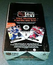 1991 - 92 NHL Hockey Cards Pro Set Series II Sealed Display Box 36 Packs