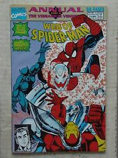 Web of Spiderman I#8 & #9 Annuals Ultron,Iron Man & New Warriors App NM/NR