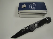 GERMAN EICKHORN RESCUE POLICE FOLDING KNIFE PRT X. W/ TANTO BLADE LEGAL VERSION!
