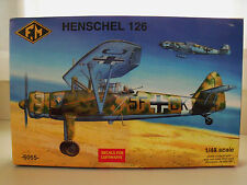 F.M / FONDERIE MINIATURE - HENSCHEL 126 (LUFTWAFFE) - MODEL KIT (OPENED)