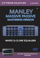 Xtreme Samples Manley Massive Passive Mastering Version Waves Q-Clone Library