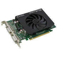 New EVGA NVIDIA GeForce GT 730 4GB DDR3 2DVI/Mini HDMI PCI-Express Video Card