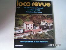 **f Loco revue n°463 Caténaire réellement tendue en N / La Big-Boy française