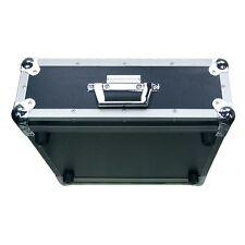 """Accu-Case 2U Double Door Rack Flightcase 19"""" Amplifier CD Player"""