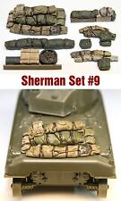 1/35 Scale Sherman Engine Deck Set #9 Value Gear Details - Resin Stowage