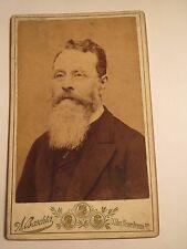 Wien - Anton Kerschbaum als Mann mit Bart und Brille - Portrait / CDV