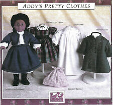 SEWING PATTERN! ADDY'S PRETTY CLOTHES! PLEASANT COMPANY! AMERICAN GIRL! NEW!
