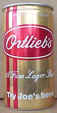 ORTLIEB'S TRY JOE'S BEER empty 12oz CAN Phiadelphia, PENNSYVANIA, Grade 1+