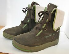 KEEN Dry Shearling Fur Street Insulated Winter Snow Women Boots 10 Hiking Brown