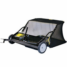 """Precision Products (38"""") 12 Cubic Foot Tow-Behind Lawn Sweeper"""